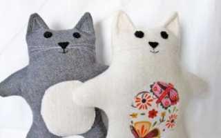 Подушки коты своими руками на любой вкус