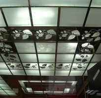 Технология сборки потолка армстронг