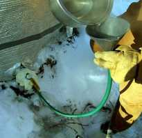 Как разморозить водопроводную трубу под землей
