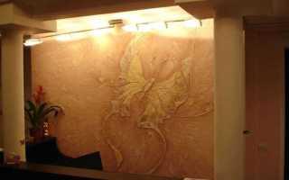 Как штукатурить стены декоративной штукатуркой