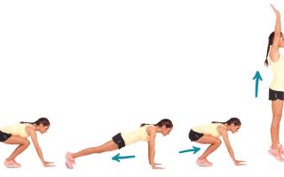 Комплекс упражнений для девушки на месяц дома