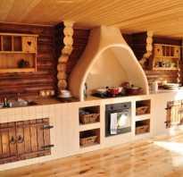 Планировка кухни студии в частном доме