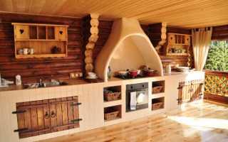 Планировка кухни в частном