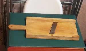Сделать шинковку для капусты деревянную своими руками