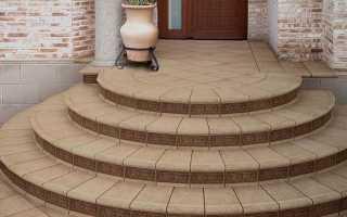 Как сделать бетонные ступени крыльца частном доме