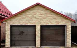 Строительство гаража на две машины