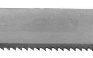 Ножовочное полотно Полотно ножовочное ручное 2800 0006
