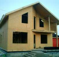 Строим дом из сип панели своими руками