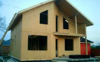 Строительство домов из СИПпанелей своими руками видео