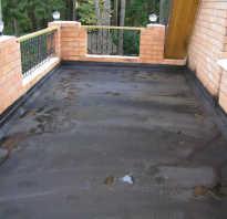 Мастика для внутренней гидроизоляции балкона