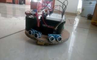 Создание маленького робота пылесоса на ардуино