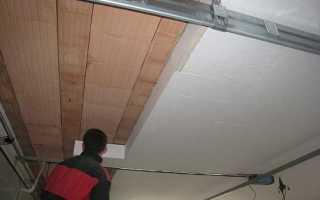 Утепляем деревянный пол со стороны подвала