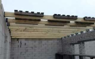 Деревянные перекрытия 2 этажа