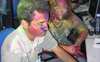 Чем можно отмыть краску принтера