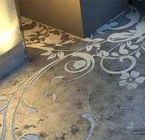 Декоративный бетон своими руками