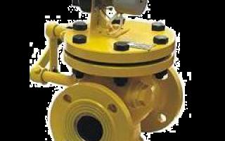 Клапан предохранительный электромагнитный газовый