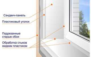 Как правильно установить откосы на балконную дверь