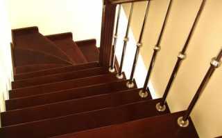 Как сделать перила для лестницы из дерева