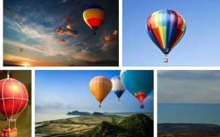 Сонник миллера воздушный шар