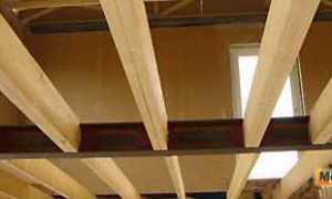 Особенности типы и расчет деревянных балок перекрытия