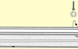 Надежная установка инфракрасного обогревателя на потолок