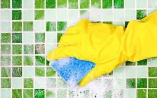 Как почистить плиточные швы
