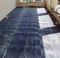 Как сделать гидроизоляцию на бетонном полу