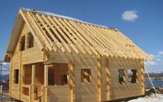 Построить дом из бруса своими руками