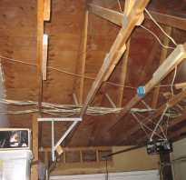Устройство крыши перекрытия гаража