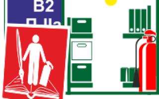 Противопожарный режим в складских помещениях