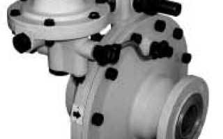Регулятор давления газа рдп 50в