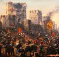 Столица османской империи в 18 веке