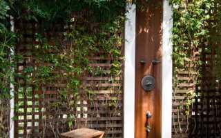Летний душ выбираем практичный и оригинальный дизайн
