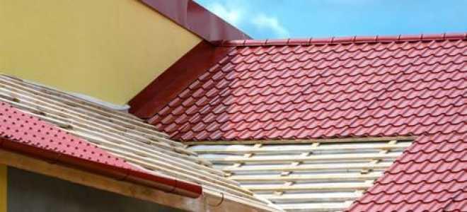 Как установить металлочерепицу на крышу