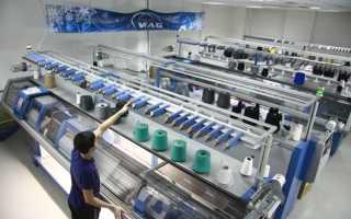 Производство и продажа вязаных вещей
