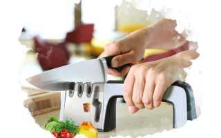 Как выбрать точилку для кухонных ножей