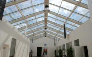 Кроем крышу поликарбонатом своими руками