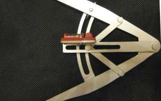 Плотницкая черта Чертеж плотницкой черты