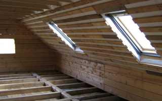 Парогидроизоляция для мансардной крыши
