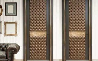 Обивка дверей новый образ лица дома