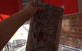 Как убрать старый клей с плитки