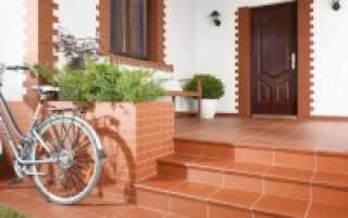 Крыльцо для частного дома из бетона чертежи