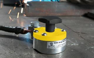 Как сделать магнитную массу на сварочный аппарат