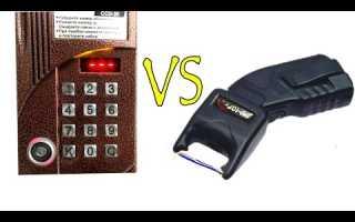 Защита домофона от электрошокера