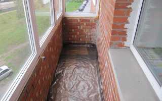Пошаговый процесс гидроизоляции пола на своем балконе