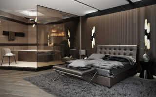 Дизайн интерьера мужской спальни