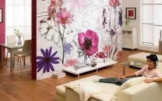 Как прикрепить ткань на стену для декорирования