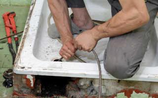 Прочистка канализационных труб разбор наиболее эффективных методов