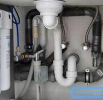 Подключение умывальника к водопроводу