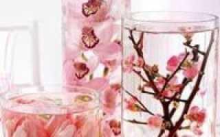 Цветы в глицерине своими руками мастер класс